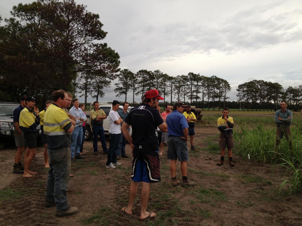 Next Gen Bundy - farm visit 14 11 13