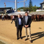 Stephen Ryan and Don Murday at Rural Press Club Ekka breakfast