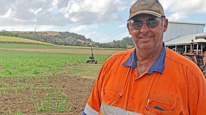 HOPEFUL: With a solid first half of the crushing under their collective belts, growers like Vince Muscat are remaining optimistic.
