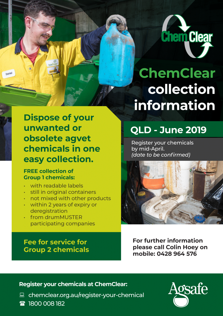 ChemClear QLD flyer